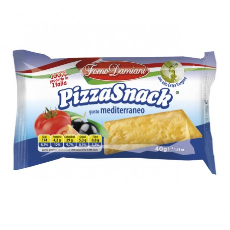 Pizza Snack Mediterraneo 40g Eurosnack