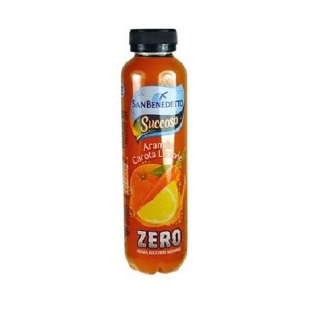 Succoso Zero arancia-carota-limone Pet 0,4l San Benedetto