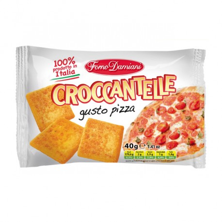 Croccantelle Pizza 40 G Eurosnack
