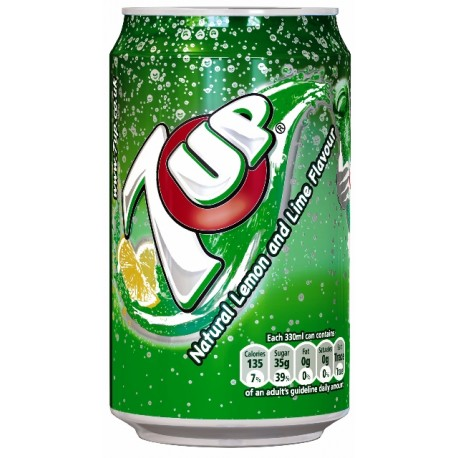 SEVEN UP Lattina 0,33 L