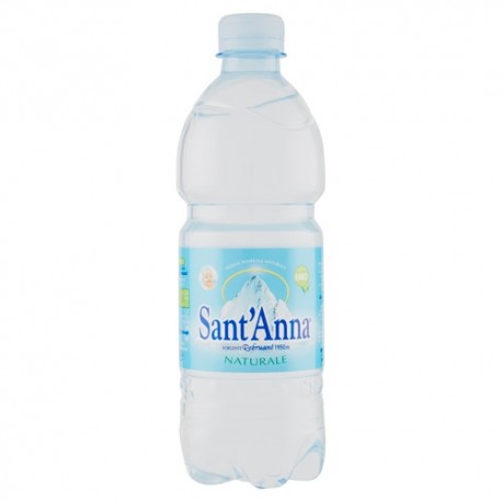 Acqua Naturale Pet 0,5l SANT' Anna