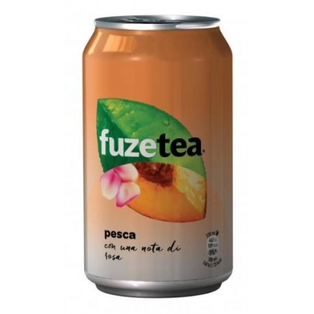 FUZE TEA PEACH ROSE Lattina 0,33 cl