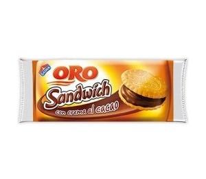 Oro Sandwich Crema Cacao Saiwa 80 gr.