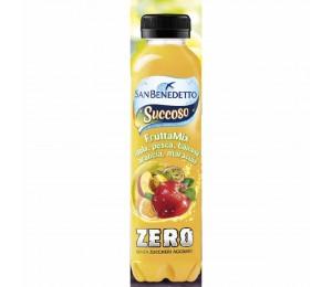 Succoso Zero frutta-mix   Pet 0,4l San Benedetto [1772]