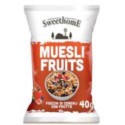 Sweethome  Muesli alla Frutta Monodose - 40 gr