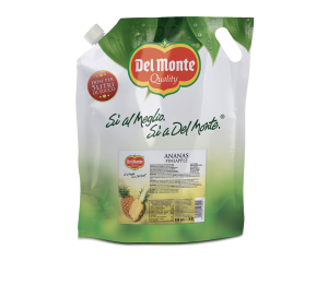 E-BAG ANANAS DEL MONTE 830ML [SO60760] 6 PZ