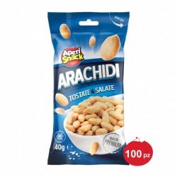 Arachidi Tostate e Salate Bustine 40 g X 100 pz Aperisnack