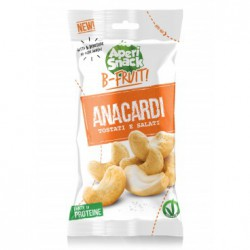 Anacardi Tostati e Salati  Bustine B-Fruit da 25 g Box 20 pz Aperisnack