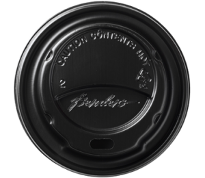 COPERCHIO 12oz Diam.80mm NERO VENDING FLO [7402128]