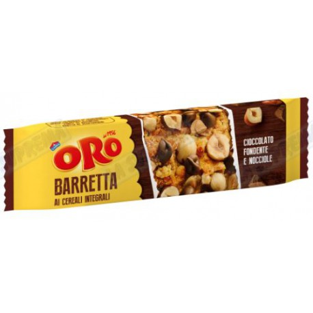 ORO BARRETTA CHOCO&HAZELNUT 40gr MONDELEZ