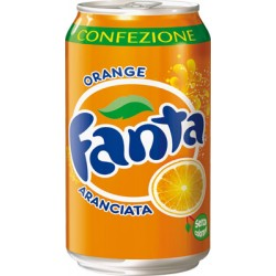 Fanta Orange Lattina 33 Cl