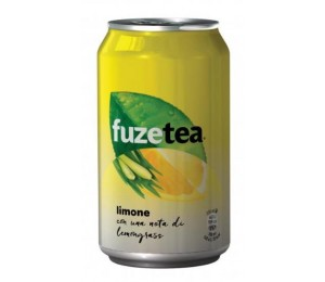 FUZE TEA LEMONGRASS Lattina 0,33 cl